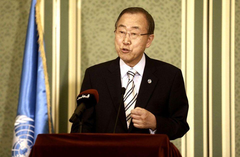 Ban Ki-moon in Qatar