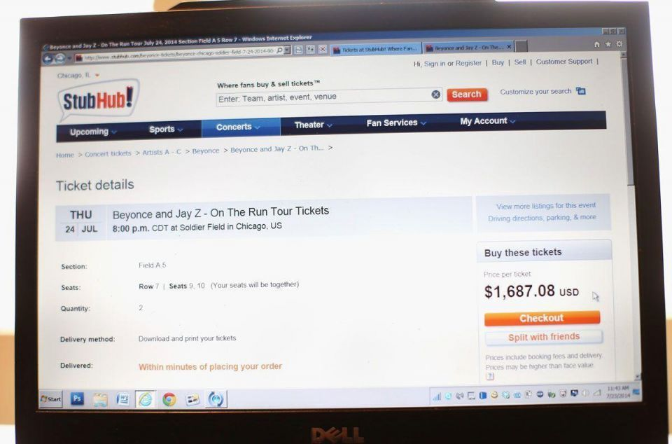 eBay Inc.'s StubHub hit by cyber fraud ring