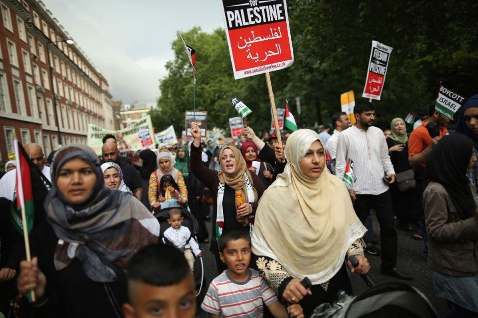 Al Quds Day march in London
