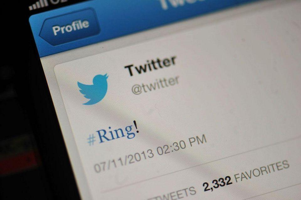 Twitter stock jumps 30 percent