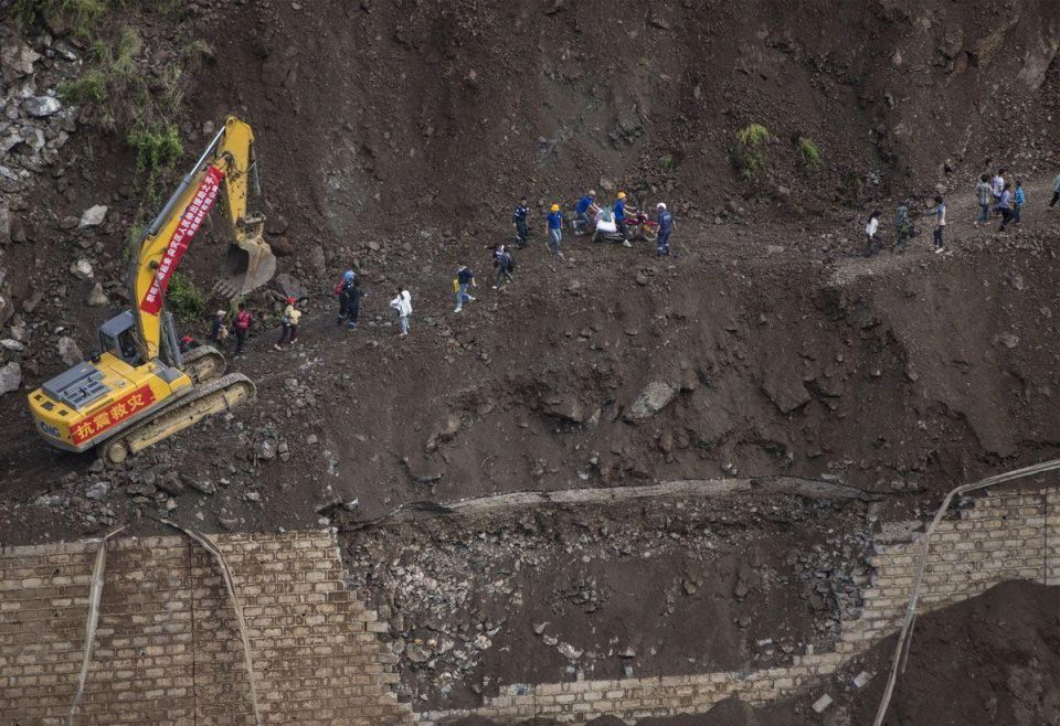 Death toll rises in China earthquake