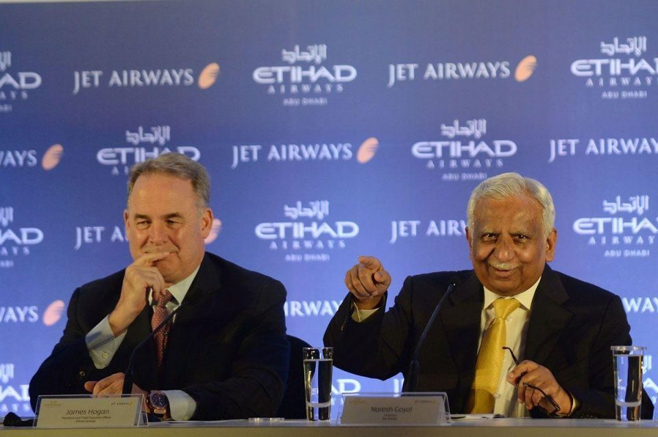 Etihad-backed Jet Airways maintains profit run despite tough conditions