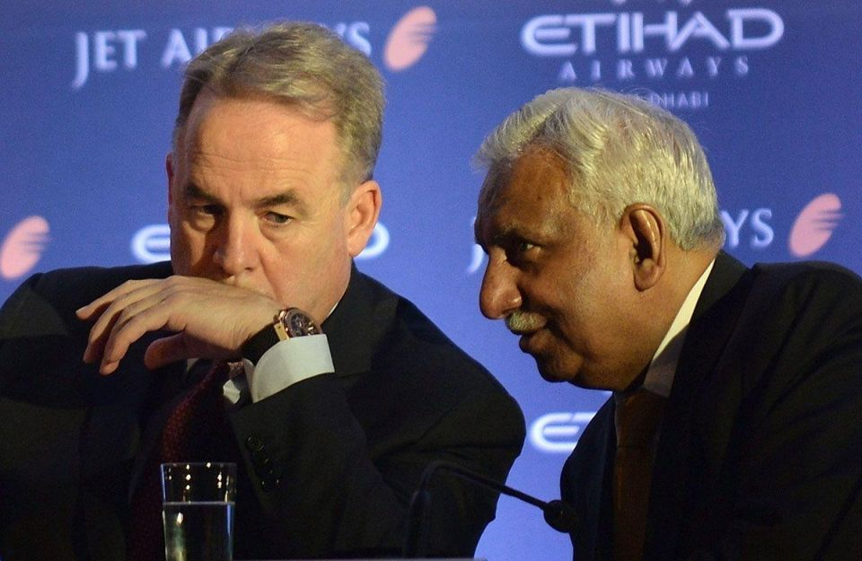 Etihad-backed Jet Airways secures $150m loan