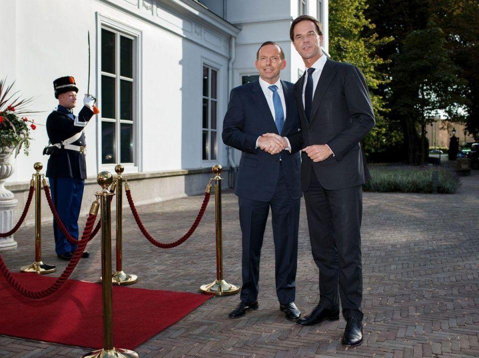 Australian PM in Europe