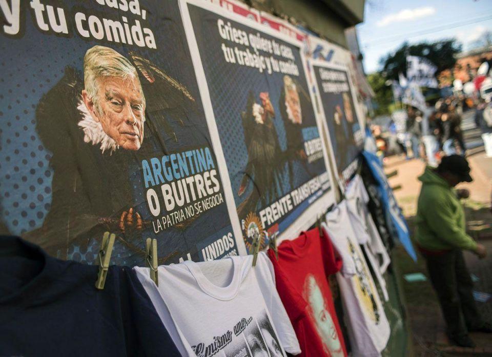 Argentinians against 'vulture funds'