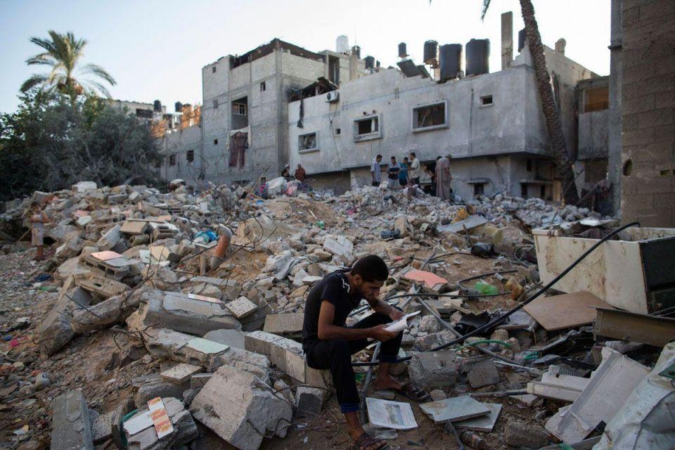 Qatar 'ready to rebuild Gaza'