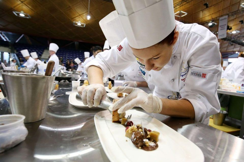 Nestle Toque d'Or competition 2014