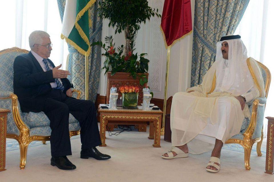 Mahmoud Abbas visits Qatar