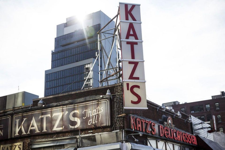 NYC's icon Katz's Deli sells air rights to stay in its home of 126 years