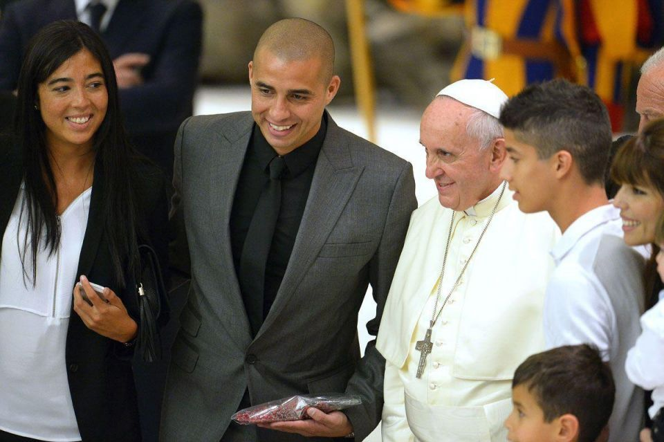 'Match for Peace': Pope Francis hosts football stars in Vatican