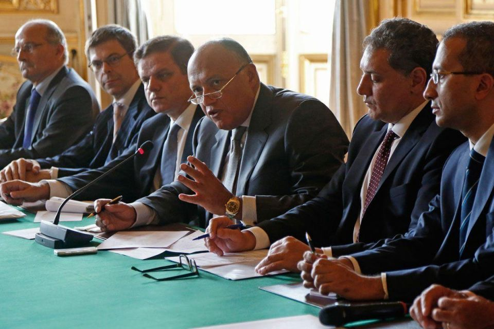 Egypt and France foreign ministers focus on economy