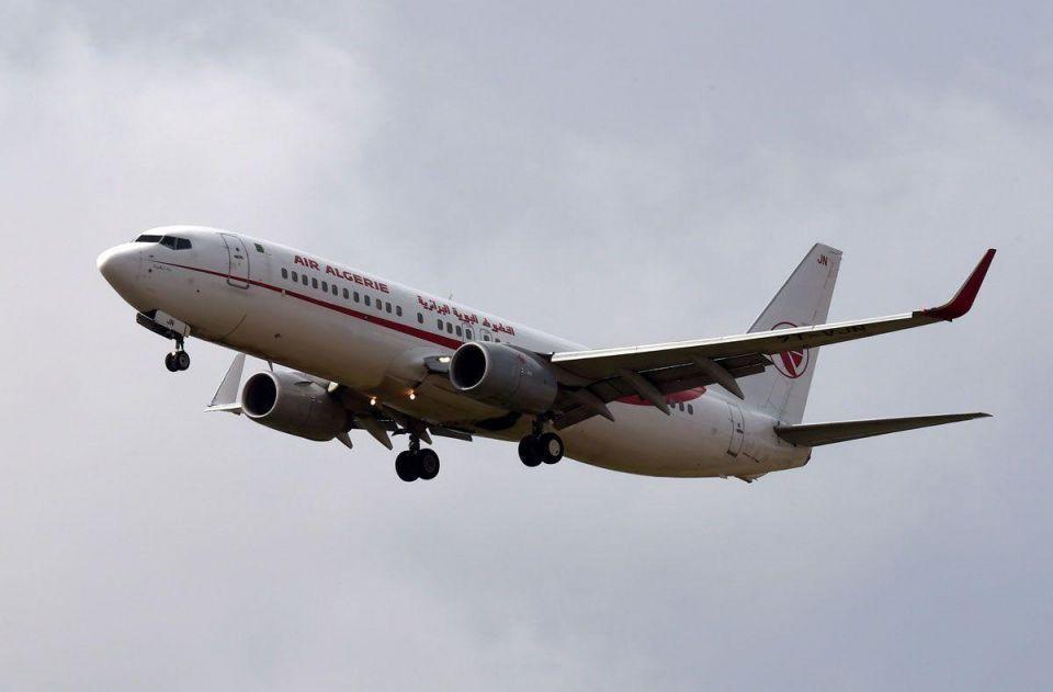 Algerian jet in aborted landing over cabin water leak