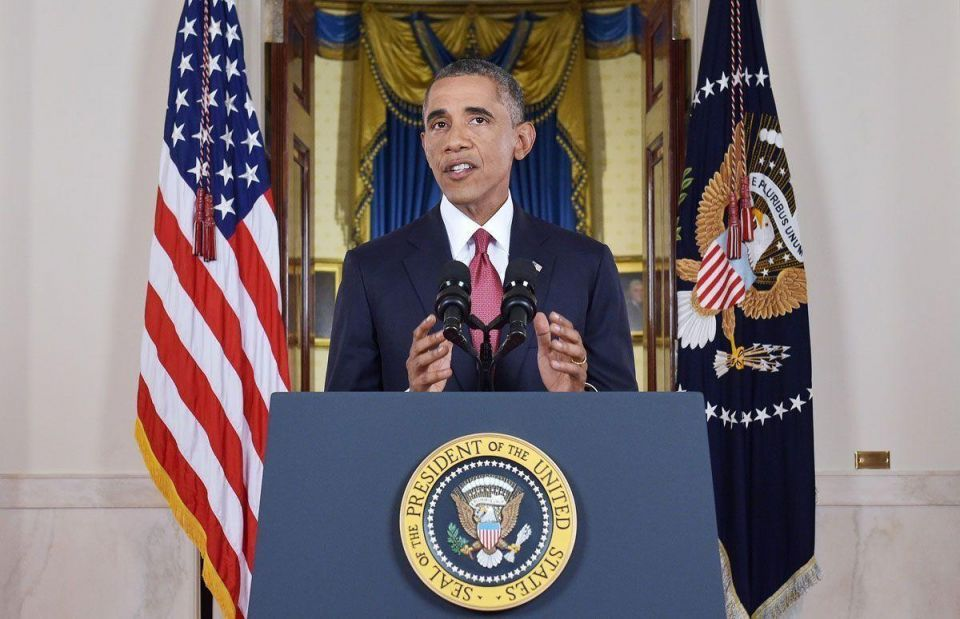 """Obama lays out strategy to """"ultimately destroy ISIL"""""""