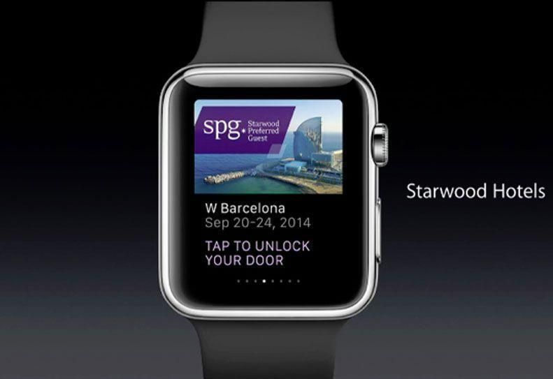 Apple Watch to unlock rooms at Starwood hotels
