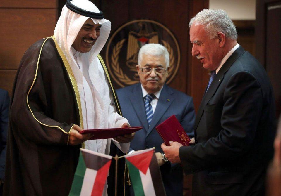 Kuwaiti Foreign Minister in Gaza