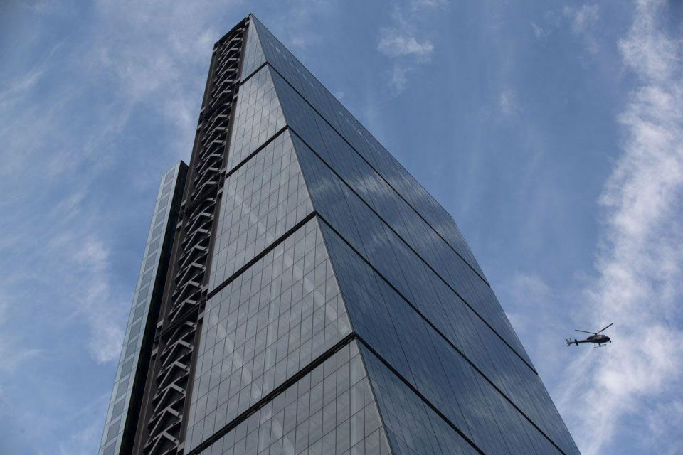 Inside London's 'Cheesegrater'