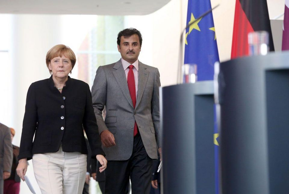 Emir of Qatar visits Germany