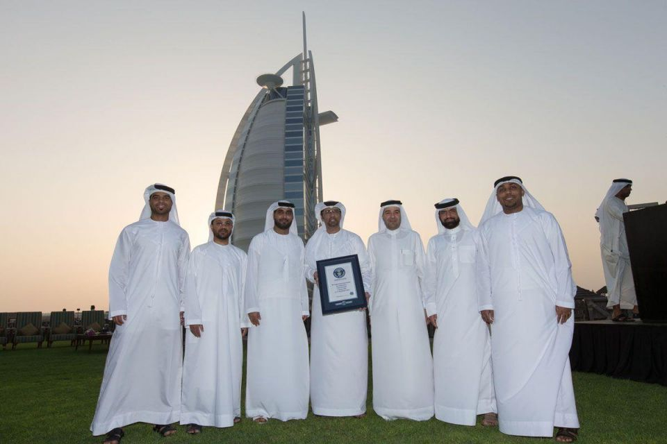 UAE sets Guinness World Record with Tennis Ball Mosaic