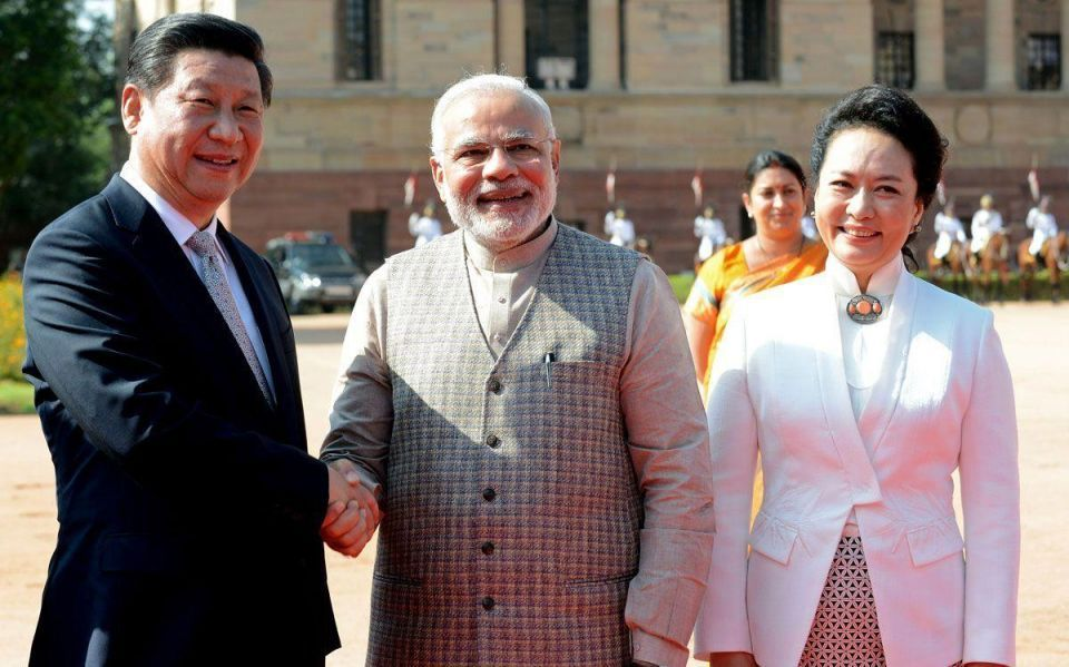 Chinese President in India to Discuss Trade
