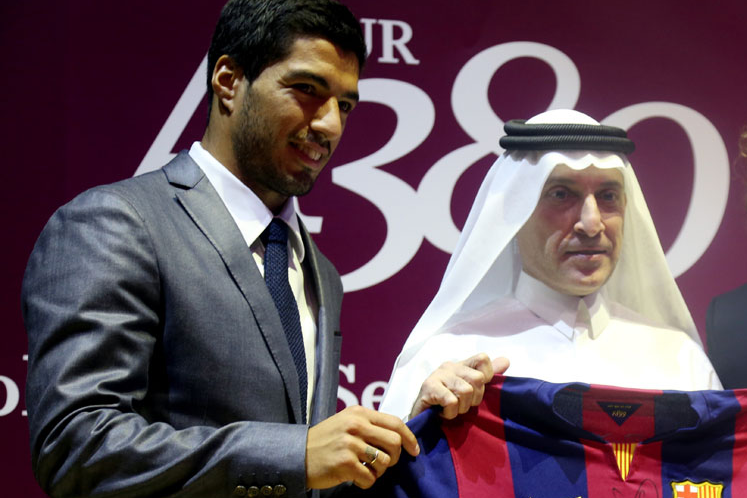FC Barcelona hold out for more in Qatar Airways' sponsorship deal