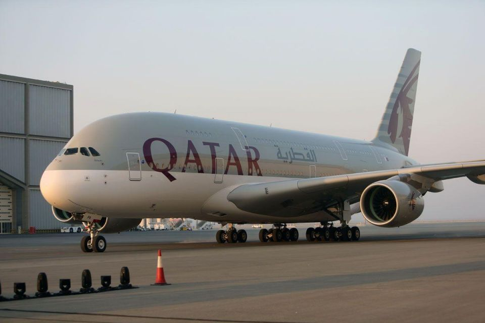 Qatar Airways Takes Delivery of Airbus A380 superjumbo from Airbus