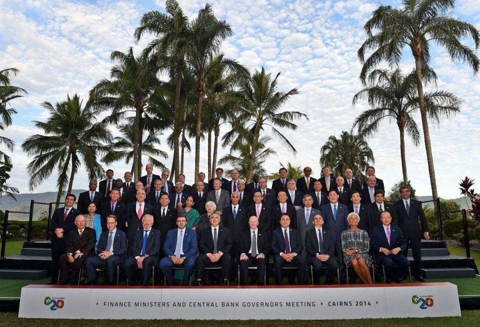 G20 Finance Ministers Meet in Australia