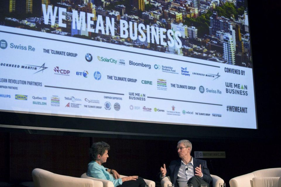 Global Leaders Attend NYC Climate Week Event