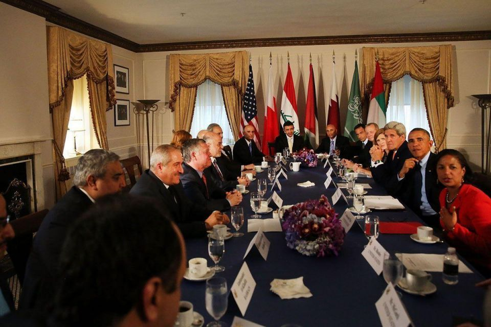 Obama Meets with Arab Representatives in NYC