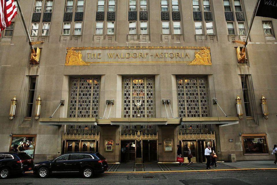 NYC: Hilton to sell landmark Waldorf-Astoria Hotel