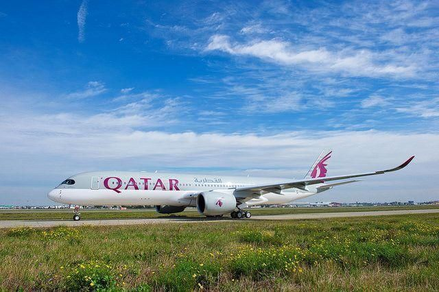 Airbus delivers world's first A350 to Qatar Airways
