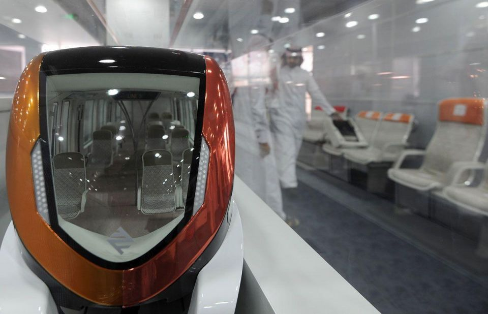 French firm delivers first train for Riyadh Metro