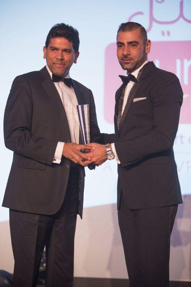 Winners of the Arabian Business Achievement Awards 2014