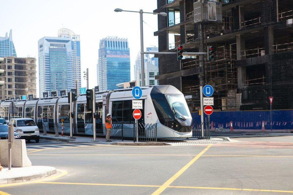 Dubai Tram to extend to Burj Al Arab and Mall of the Emirates