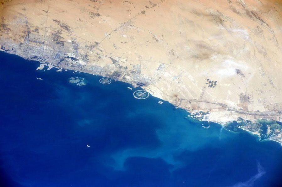 NASA astronaut tweets images of Dubai from International Space Station