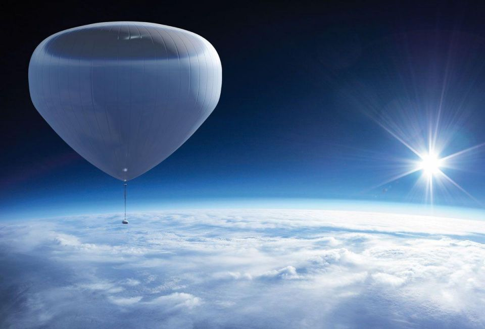 The new space race: Beating Branson with balloons