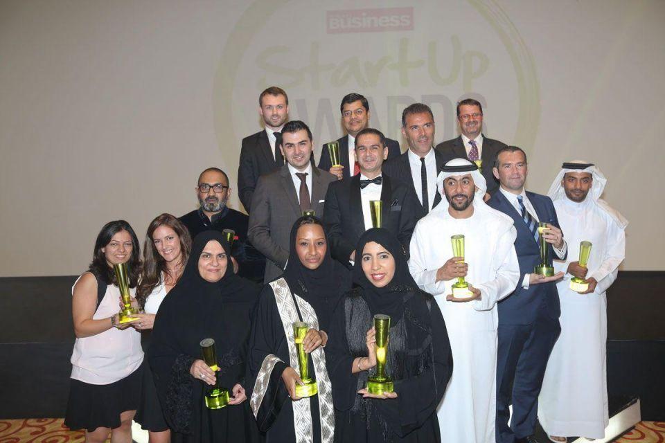Winners of Arabian Business StartUp Awards 2014