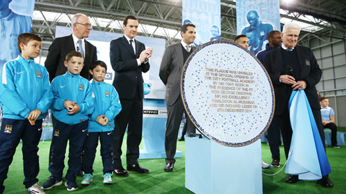 Abu Dhabi's Manchester City opens new youth academy