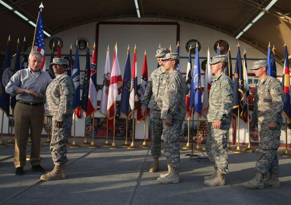 US Defense Secretary visits Kuwait