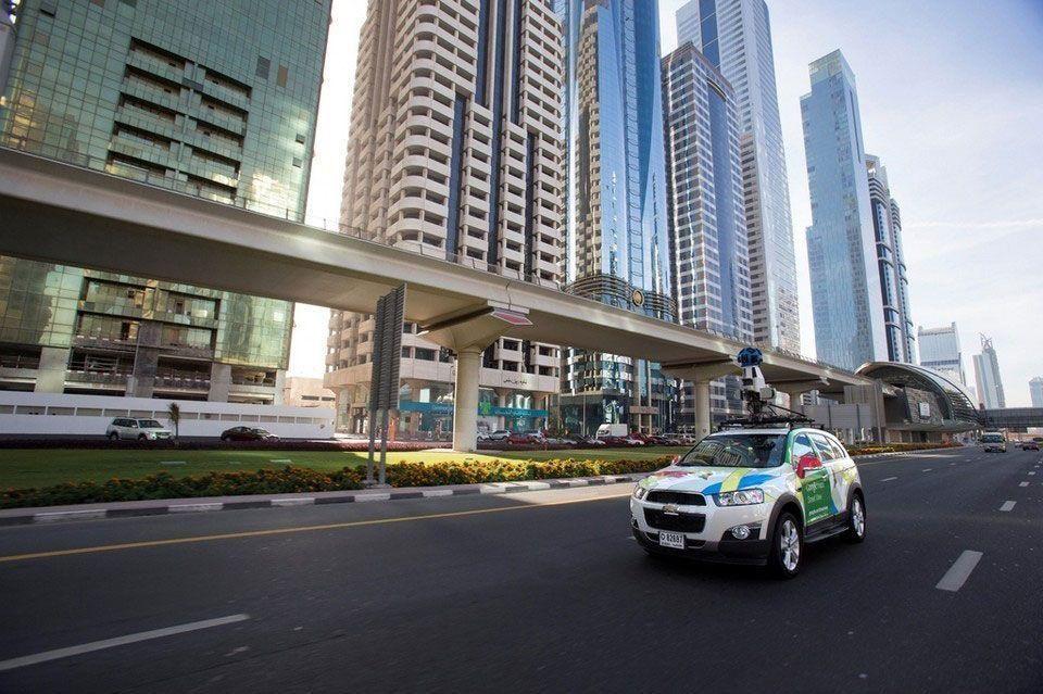 Google launches Street View in Dubai