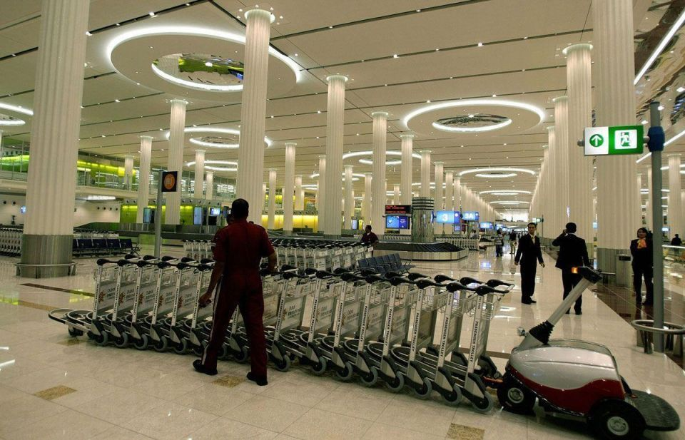 12,000 workers employed on $1bn Dubai Airport expansion