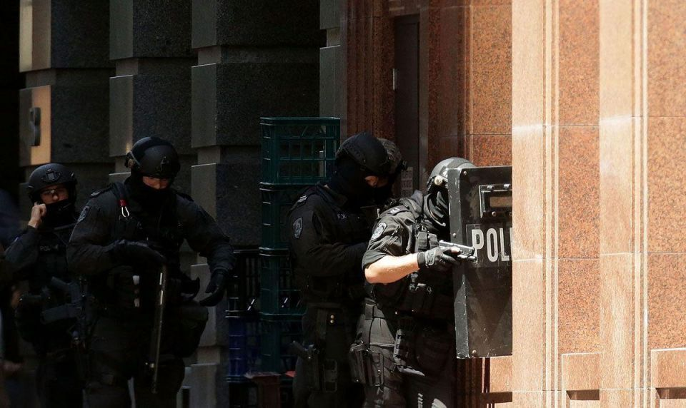 In pics: Hostage situation in Sydney
