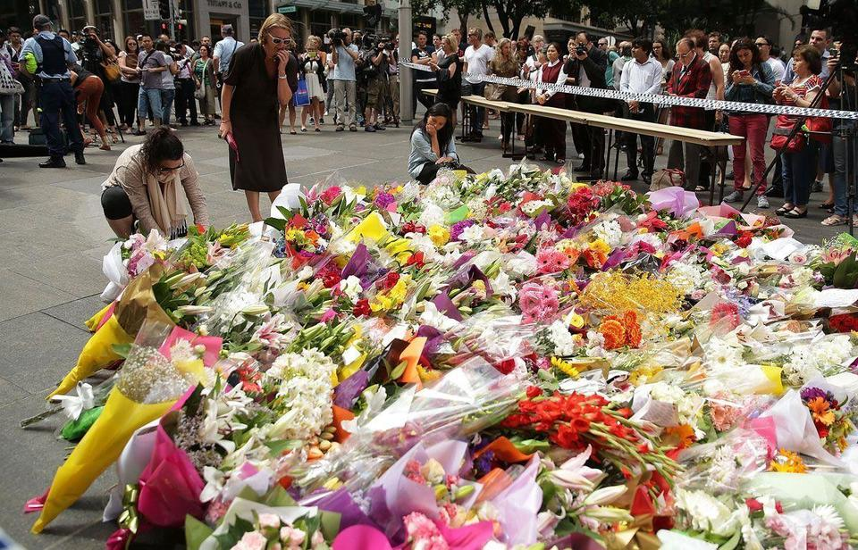 Sydney pays respect to victims
