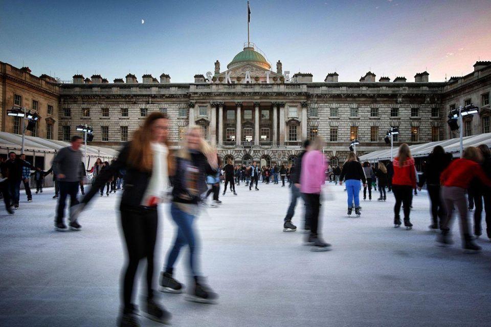 London's ice rinks