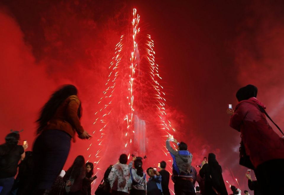 Dubai named the world's most expensive city to celebrate NYE