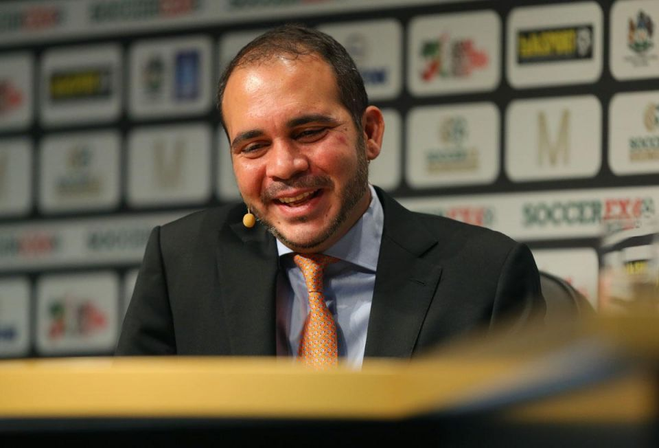 Presidential hopeful Prince Ali demands FIFA changes