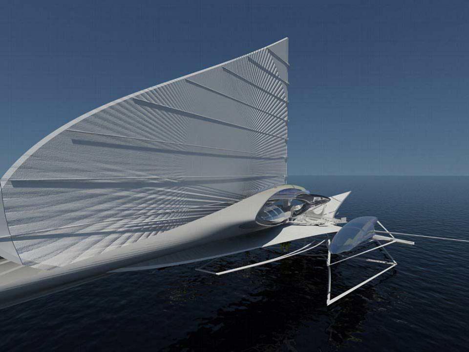 Architect unveils revolutionary $15m solar-powered yacht