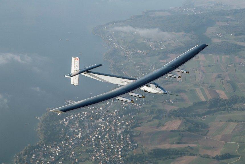 Solar Impulse pilot dedicates flight to Abu Dhabi Crown Prince