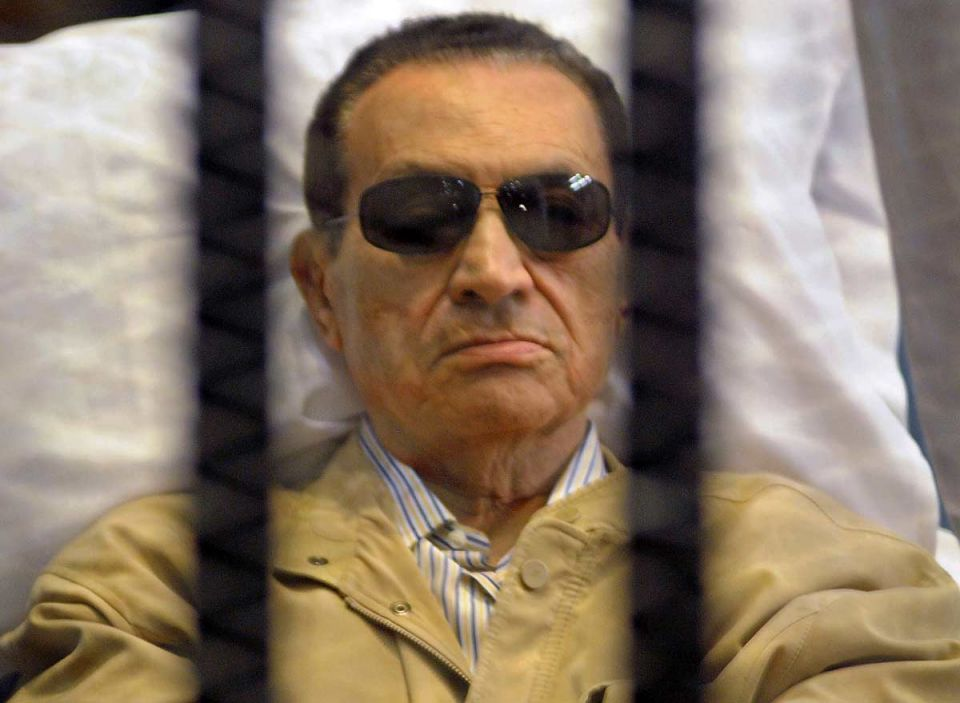 Egyptian court rejects Mubarak, sons appeal of 3-year jail sentence