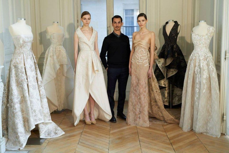 Dubai-based Rami Al Ali unveiled new collection in Paris