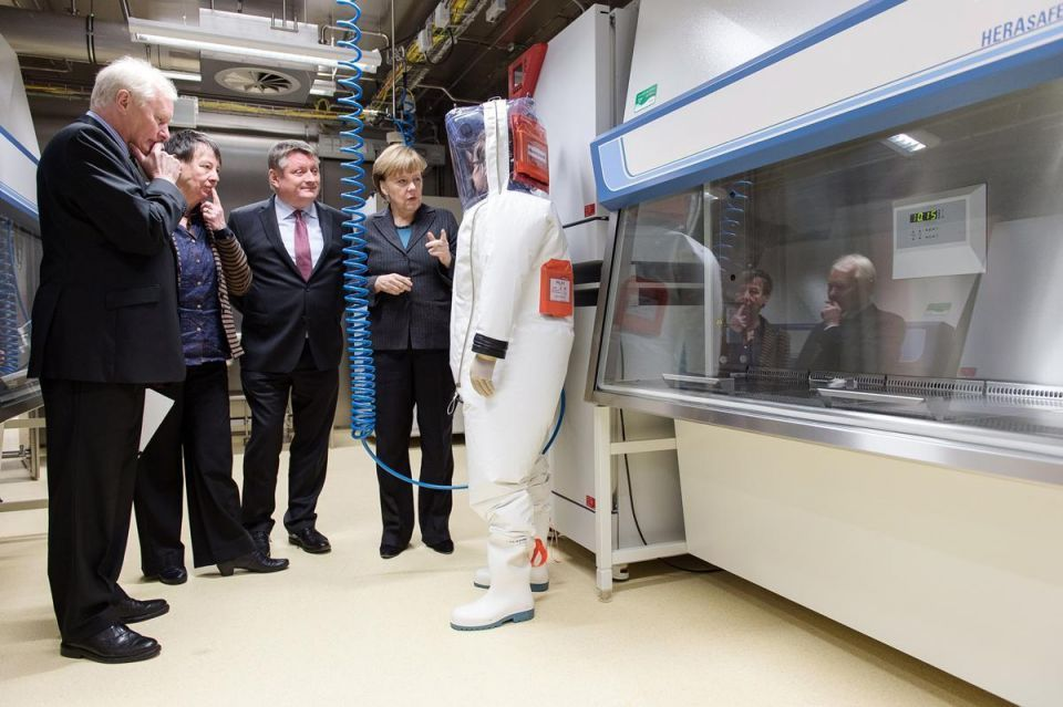 Germany: Koch Institute's new labs for research on high-risk diseases